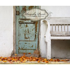 Grunge Fall Front Porch